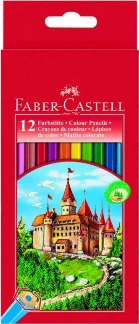 Faber-Castell Kredki Zamek 12 sztuk (WIKR-924359) 1