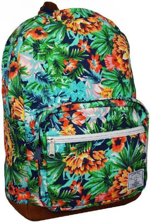 Incood Plecak jednokomorowy Kwiaty PAUL&CO (286831) 1