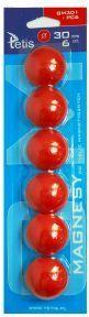 Tetis Magnesy do tablic magnetycznych GM301-PC6 - WIKR-950052 1