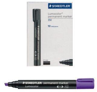 Staedtler Marker permanentny Lumocolor ze ściętą końcówką fioletowy - WIKR-0983556 1