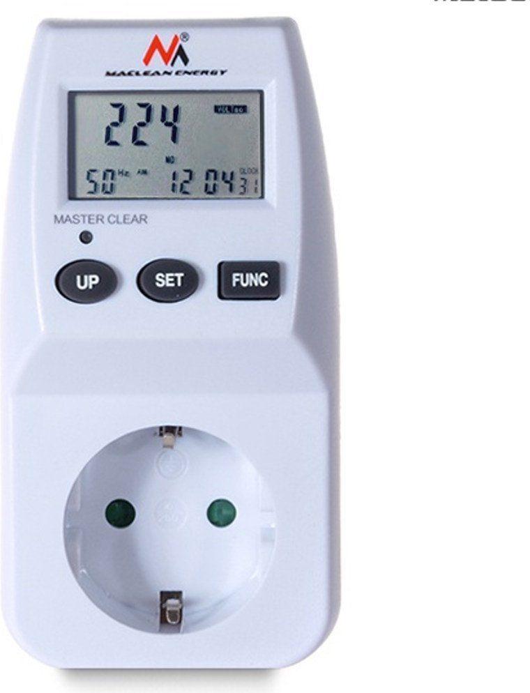 Maclean Miernik energii elektrycznej - watomierz MCE06G, niemieckie gniazdo 1