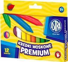 Astra Kredki woskowe 12 kolorów Jumbo Vision (136818) 1