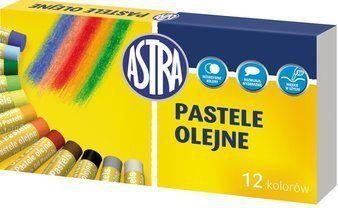 Astra Pastele olejne 12 kolorów 1