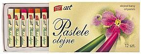 Easy Pastele olejne 12 kolorów EASY (234003) 1