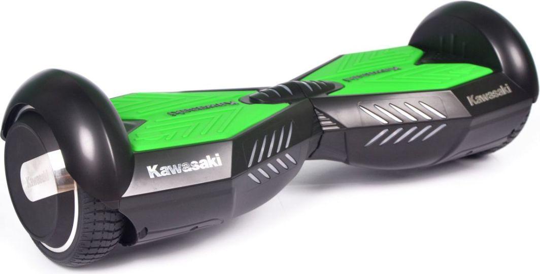 Deskorolka elektryczna Kawasaki Balance Scooter KX-PRO 6.5A czarno-zielona 1