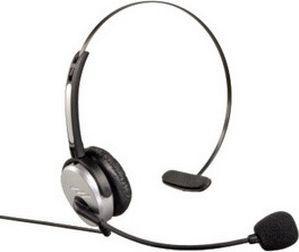Słuchawki z mikrofonem Hama Telephone Jack Plug (40625) 1