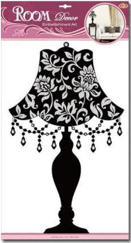 Marko Dekoracja Ĺ›cienna Czarna Lampa  1
