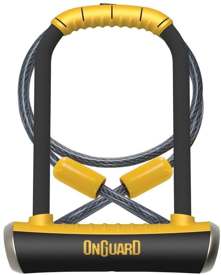 ONGUARD Zapięcie rowerowe PitBull DT 8005 + linka (ONG-8005) 1