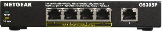 Switch NETGEAR GS305P (GS305P-100PES) 1