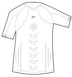 Fuse Koszulka męska Staycool Megalight 140 T-Shirt biała r. XL (FSE-12-1000-8-3-0001) 1
