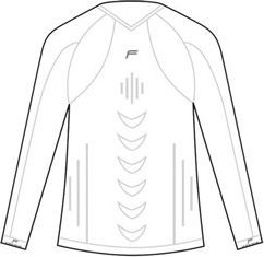Fuse Koszulka męska Staycool Megalight 140 długi rękaw biała r. XL (FSE-15-1001-8-3-0001) 1