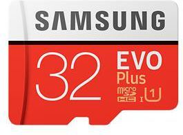 Karta Samsung Evo Plus MicroSDHC 32 GB Class 10 UHS-I/U1  (MB-MC32GA/EU) 1