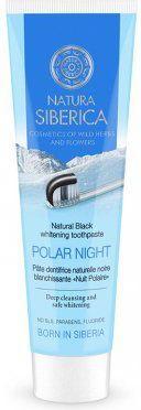 Natura Siberica Czarna Pasta Wybielająca Bez Fluoru Polar Night 100g 1