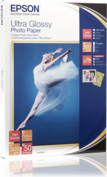 Epson papier Ultra Glossy Photo 13x18 (C13S041944) 50 ark 1
