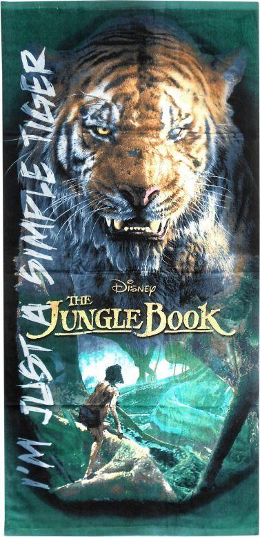 Euroswan Ręcznik plażowy / kąpielowy Księga Dżungli 1