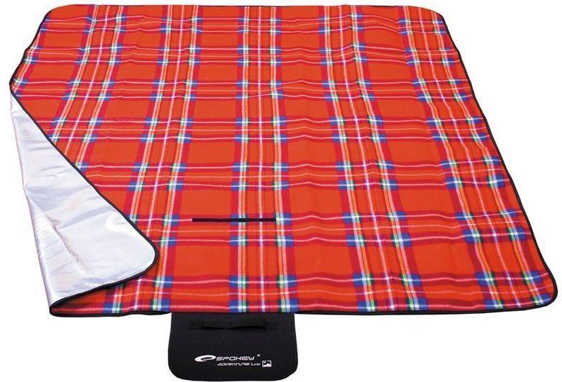 Spokey Koc piknikowy Picnic Tartan 150x180cm czerwony (85043) 1