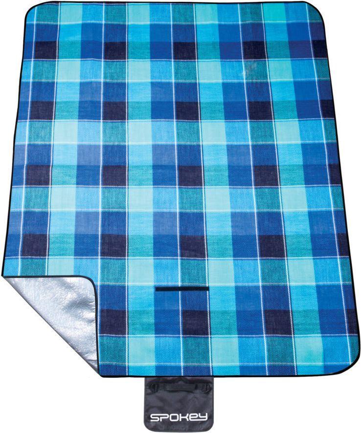 Spokey Koc piknikowy Picnic Flannel 150 x 180 cm niebieski (839636) 1