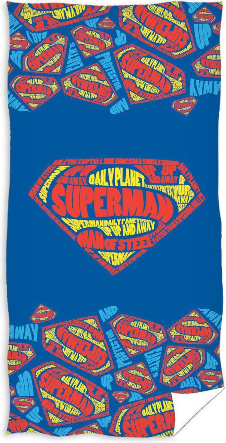 Carbotex Licencja ręcznik SUPERMAN 70x140cm (SUP163012-R) 1