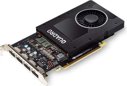 Karta graficzna Fujitsu NVIDIA Quadro P2000, 5GB GDDR5 (160 Bit), 4xDisplayPort (S26361-F2222-L204) 1
