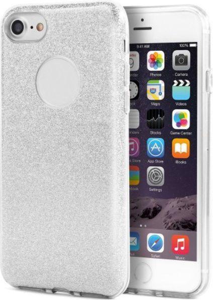 Glitter Nakładka 3in1 do iPhone 6 Plus srebrna (GSM028075) 1