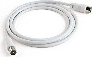 Kabel Meliconi Antenowe 2m biały (497100BA) 1