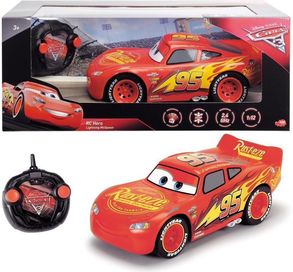 Simba Samochód RC Auta 3 Hero Zygzak McQueen 1:12 (203088001) 1