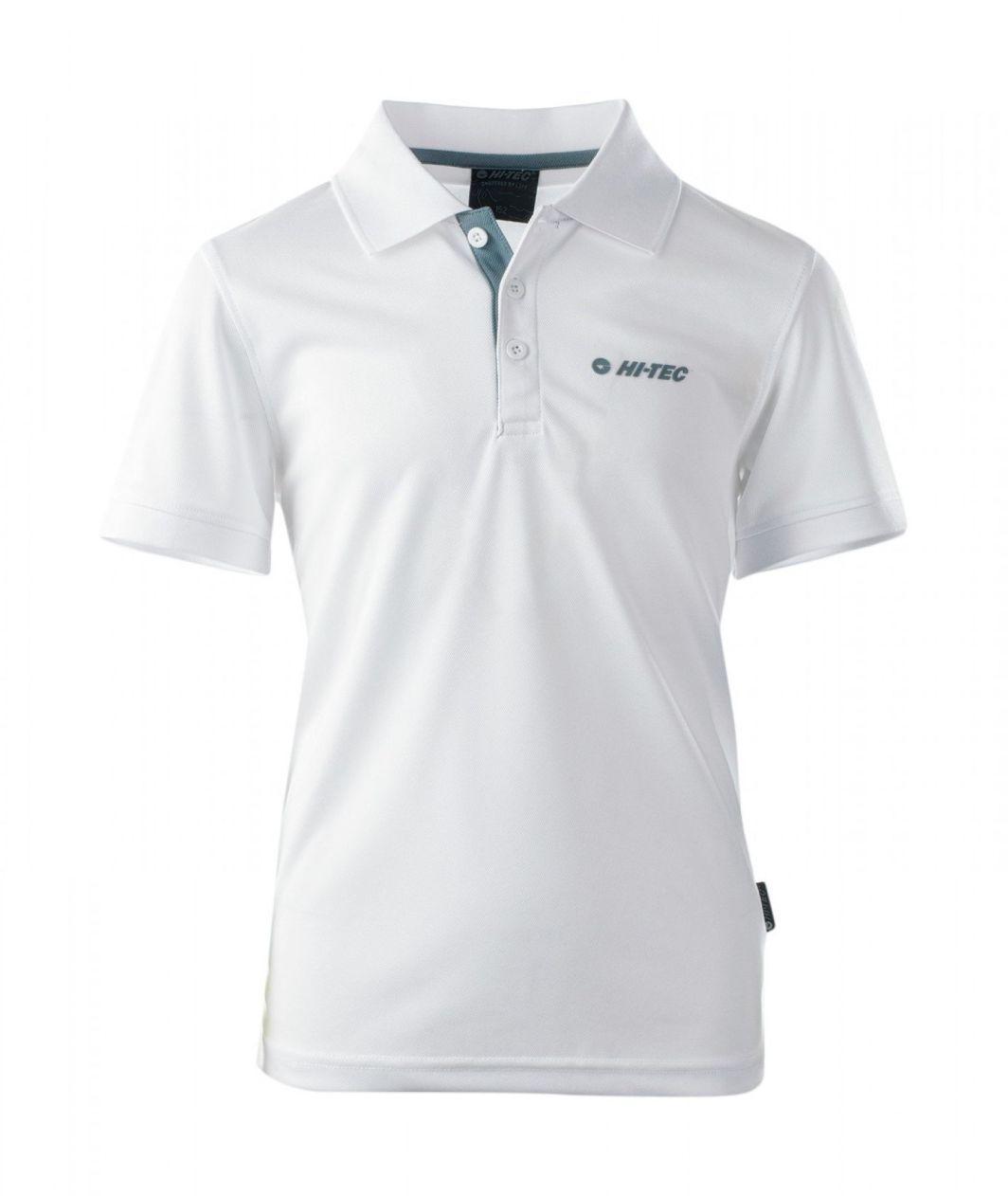 Hi-tec Koszulka dziecięca SITE JR WHITE/TROOPER r. 146 cm (92800081675) 1