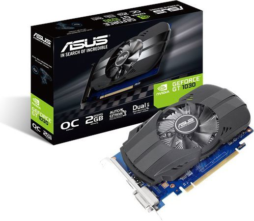 Karta graficzna Asus Phoenix GeForce GT 1030 OC 2GB GDDR5 (PH-GT1030-O2G) 1