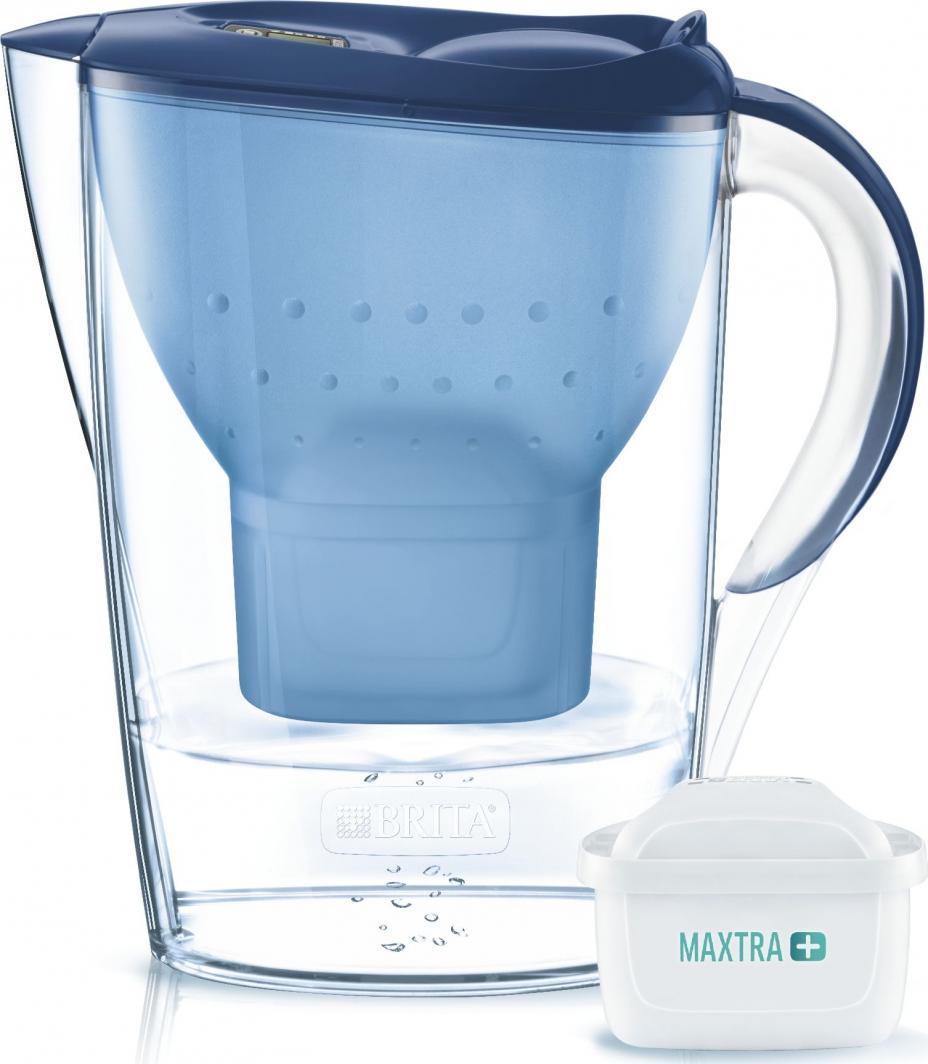 Dzbanek filtrujący Brita Marella Cool niebieski + wkład 1
