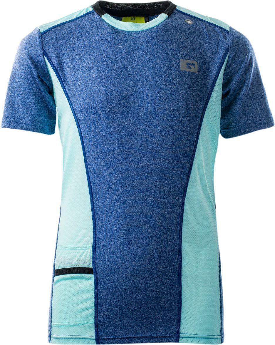 IQ Koszulka dziecięca Kini Jr Monaco Blue MelangeAqua Splash r. 158 ID produktu: 1305110