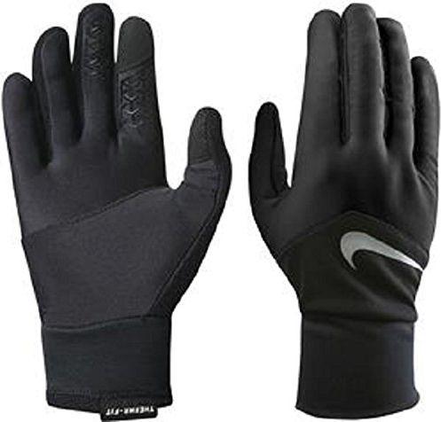 Nike Rękawiczki męskie Dri fit Tempo Run Gloves czarne r. L ID produktu: 1308226