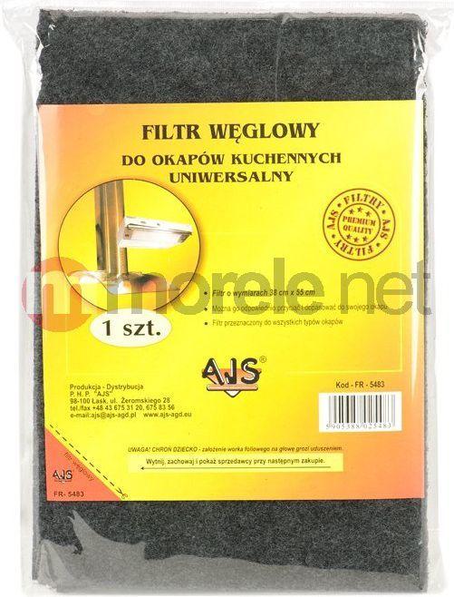 Filtr tkaninowy węglowy FW1 1