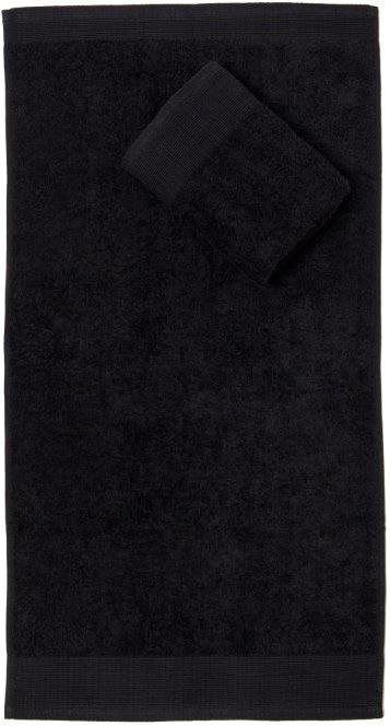Faro Ręcznik AQUA 70x140 Frotte Czarny 500g (FAO035) 1