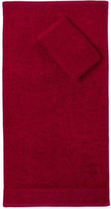 Faro Ręcznik AQUA 50x100 Frotte Bordo 500g (FAO015) 1