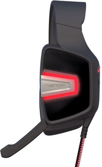 Słuchawki Patriot Viper V361 LED LIGHT , Ultra BASS, Dziwięk 7.1, Chowany Mikrofon (PV3617UMLK) 1