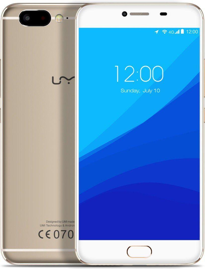 Smartfon Umi Z 4/32GB Dual SIM Złoty  (UM-Z/GD) 1