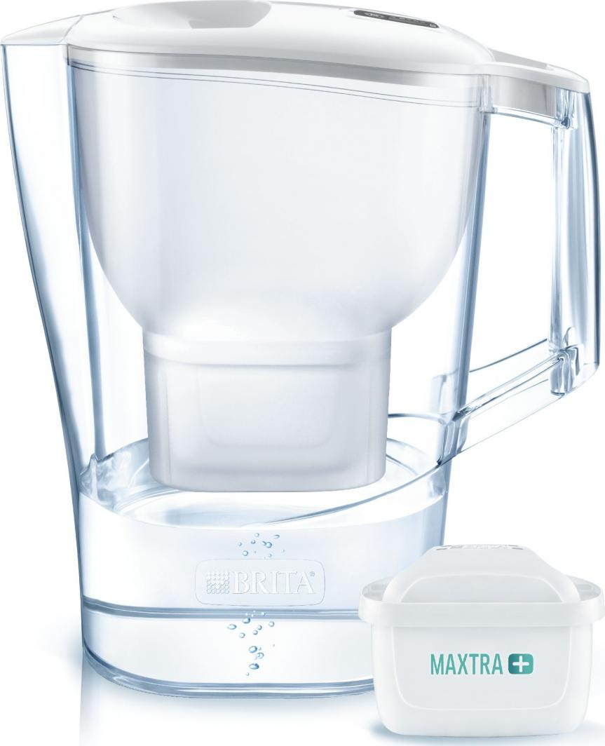 Dzbanek filtrujący Brita Aluna XL biała + 1 wkład Pure Performance 1