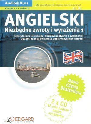 Angielski - Niezbędne zwroty +CD 1