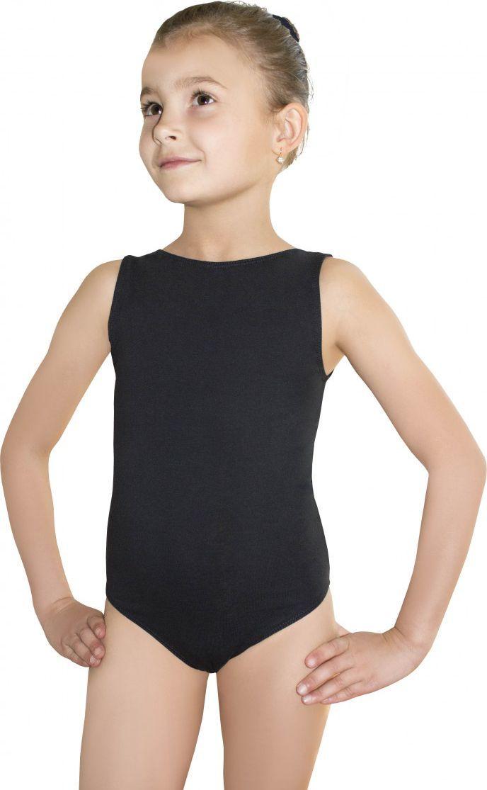 Gwinner Body dziewczęce BODYSUIT GIRLS LEOTARD Czarne (116) 1