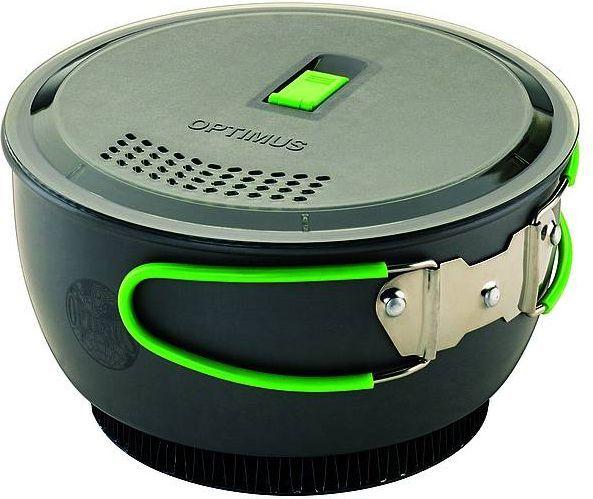 Optimus Garnek z promiennikiem ciepła Terra Xpress HE Cooking Pot Non-Stick szary 1.75l (8019745) 1