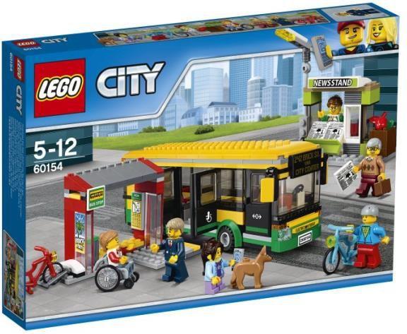 LEGO City Przystanek autobusowy (60154) 1