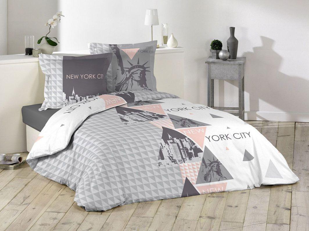 Room99 Pościel Douceur NY Style 220X200 + 2 Poszewki 63X63 (ROM1064) 1
