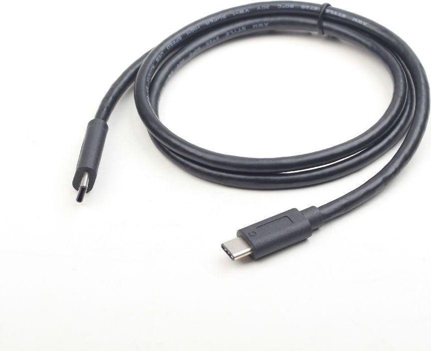 Kabel USB Gembird USB C -> USB C, (M/M), Czarny, 1.5m (CCP-USB3.1-CMCM-5) 1