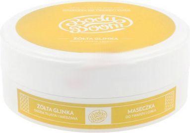 BodyBoom Yellow Clay maseczka do twarzy i ciała żółta glinka 200g 1