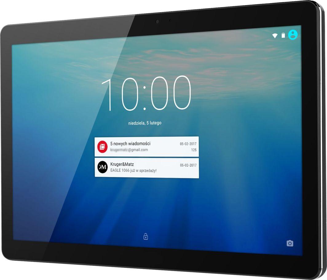 "Tablet Kruger&Matz 10.1"" 8 GB 4G LTE Czarny  (KM1067-B) 1"