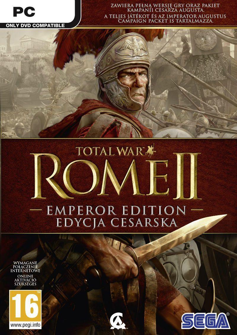 Total War: Rome II - Emperor Edition PC, wersja cyfrowa 1