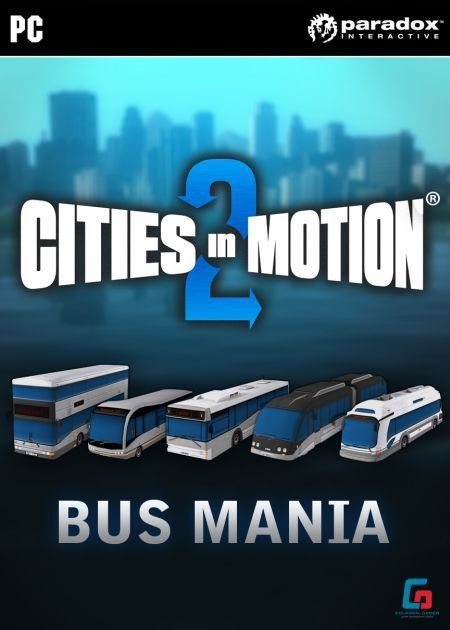 Cities in Motion 2: Bus Mania PC, wersja cyfrowa 1