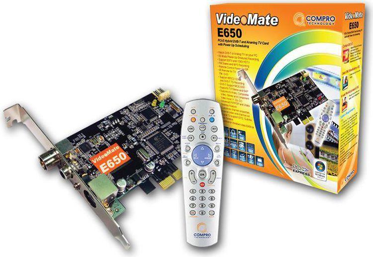 Compro VideoMate E650 HYBRID ID Produktu 135779