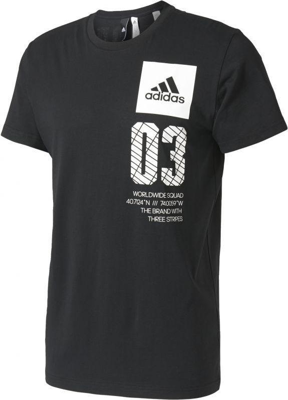 7978d4fc Adidas Koszulka New York City czarna r. S ID produktu: 1359552