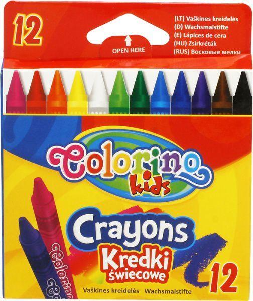 Patio Kredki świecowe Colorino - 12 kolorów 1